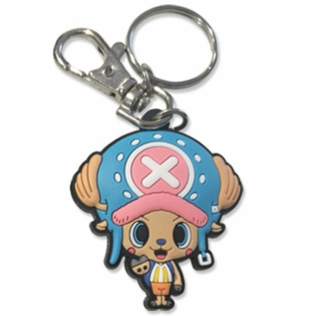 One Piece Chopper PVC Keychain