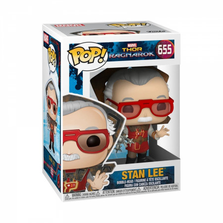 Marvel's Stan Lee in Ragnarok Outfit Funko Pop!