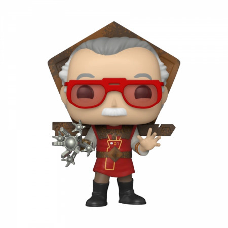 Marvel's Stan Lee in Ragnarok Outfit Funko Pop!