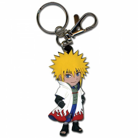 Naruto 4th Hokage Minato Namikaze PVC Keychain