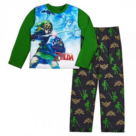 The Legend of Zelda Youth Pajama Shirt and Pant Set