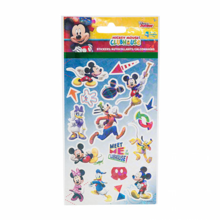 Mickey Mouse and Friends Character and Symbols Sticker Sheet 4-Pack