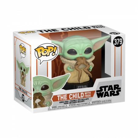Star Wars The Mandalorian The Child with Frog Funko POP! Vinyl Figure