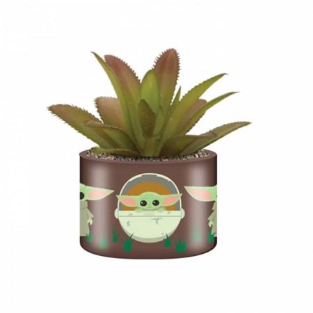 Star Wars The Mandalorian The Child Grogu Images Ceramic Planter Pot