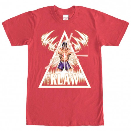 Marvel Teams The Klaw Men's Red T-Shirt