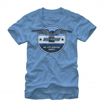 Chevrolet General Motors Genuine Chevrolet Blue T-Shirt