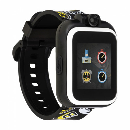 Batman Classics Symbol All Over Kids Smart Watch by Playzoom