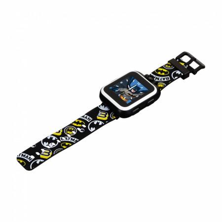 Batman Classics Symbol All Over Kids Smart Watch by Playzoom
