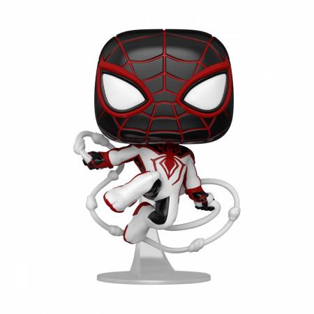 Spider-Man Miles Morales Track Suit Marvel Games Funko Pop! Vinyl Figure