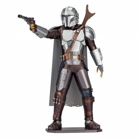 Star Wars The Mandalorian Character Premium Color 3D Metal Earth Model Kit