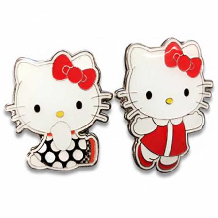 Hello Kitty Retro Enamel Pin 2-Pack