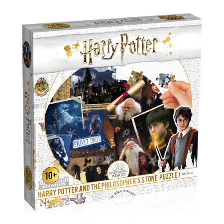 Harry Potter Philosophers Stone 500 Piece Puzzle