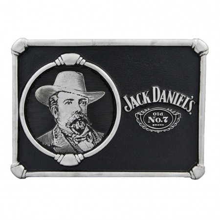 Jack Daniels Portrait Belt Buckle