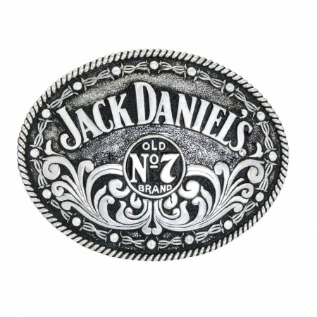 Jack Daniel's Swing Bug Logo Belt Buckle