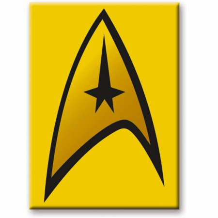Star Trek Captains Logo Magnet