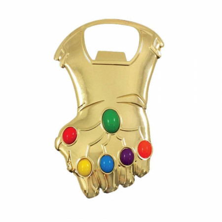 Avengers Infinity War Gauntlet Bottle Opener