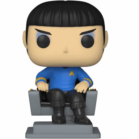 Star Trek Spock In Chair Funko Pops! With Purpose (Youth Trust) Figure