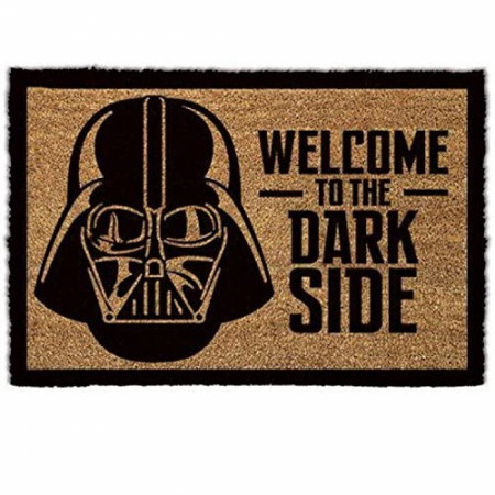 "Star Wars Welcome to the Dark Side 17""x 29.5"" Doormat with Non-Skid Back"