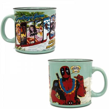 Deadpool Greetings 20 Ounce Ceramic Mug