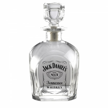Jack Daniels Label Decanter