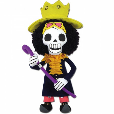 "One Piece Brook 8"" Plush Doll"