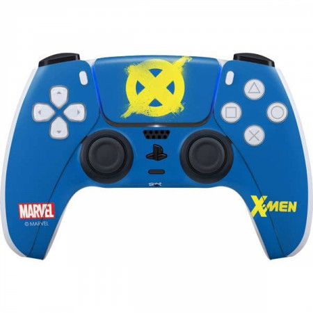 X-Men Logo Yellow PS5 Controller Skin