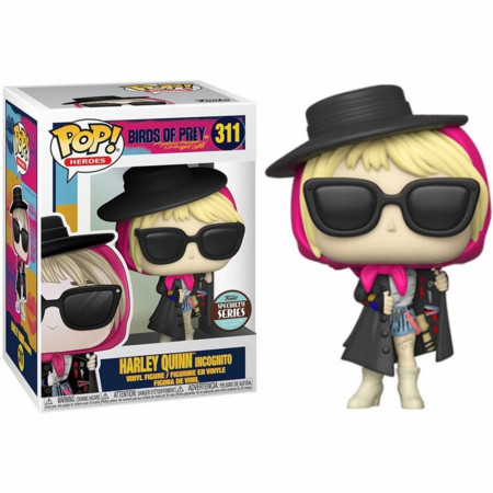 Birds of Prey Harley Quinn Incognito Funko Pop!