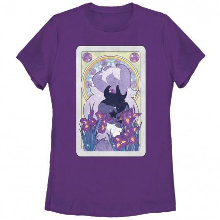 Steven Universe Amethyst Card Purple T-Shirt