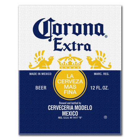 Corona Extra Beach Blanket Towel