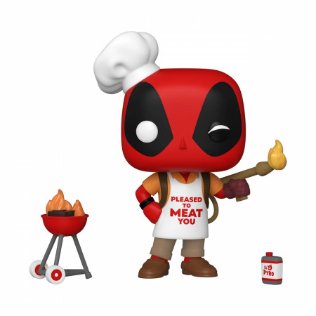 Deadpool 30th Anniversary Backyard Griller Funko Pop! Vinyl Figure