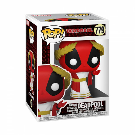 Deadpool 30th Anniversary Roman Senator Funko Pop! Vinyl Figure