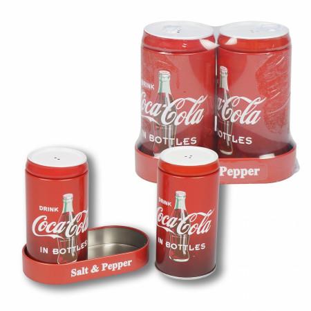 Coca Cola Salt and Pepper Shakers