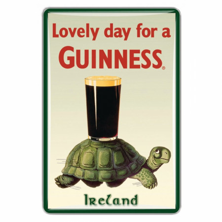 Guinness Lovely Day Tortoise Magnet