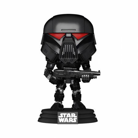 Star Wars The Mandalorian Dark Trooper Battle Funko Pop Vinyl Figure