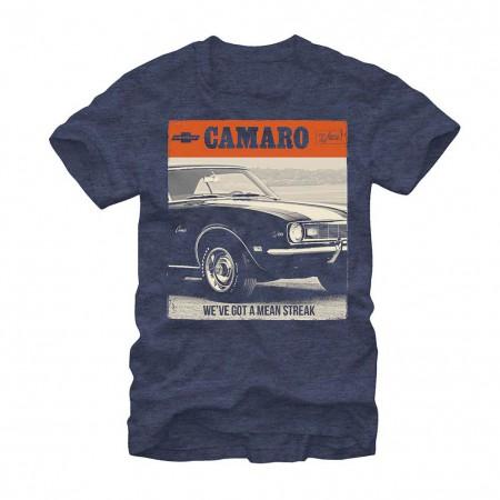 Chevrolet General Motors Mean Streak Blue T-Shirt
