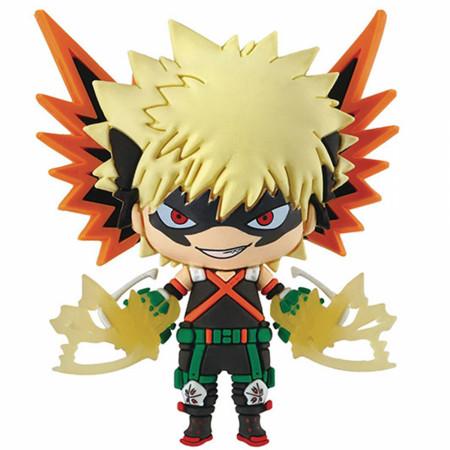 My Hero Academia Bakugo Katsuki Chibi Character 3D Foam Magnet