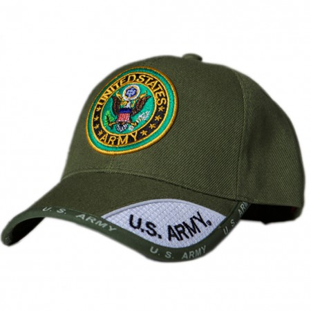 Patriotic US Army Green Hat
