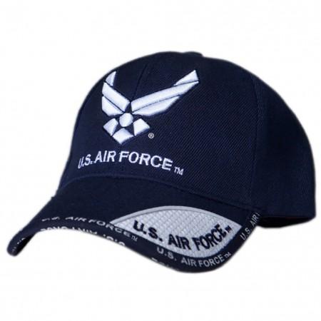 Patriotic US Air Force Navy Blue Hat