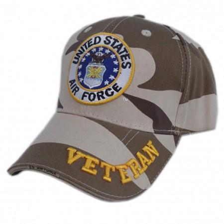 Patriotic United States Air Force Veteran Hat