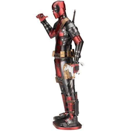 Marvel Deadpool Character Premium Color 3D Metal Earth Model Kit