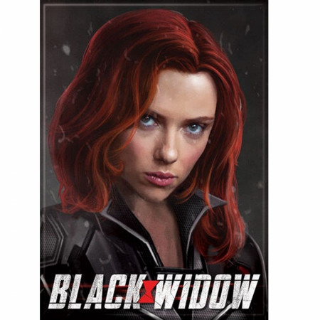 Black Widow Movie Character Magnet