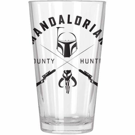 The Mandalorian Bount Hunter Pint Glass