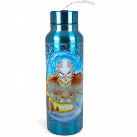 Avatar: The Last Airbender Elements 27oz Stainless Steel Water Bottle w/Strap