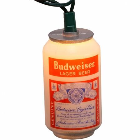Budweiser Vintage Budweiser Can 10-Light Set