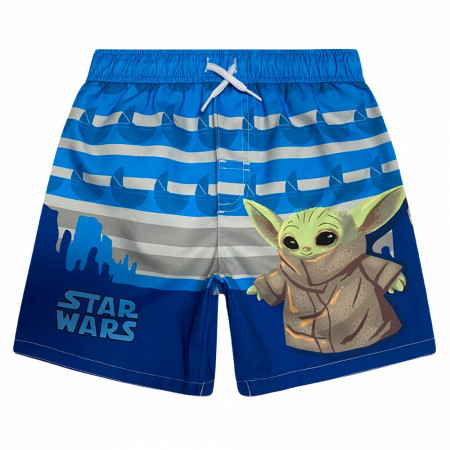 Star Wars The Mandalorian The Child Swim Trunks