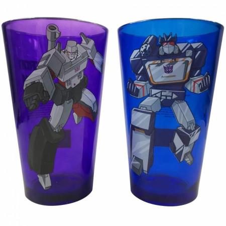 Transformers Classic Megatron & Soundwave 2-Piece Pint Glass Set