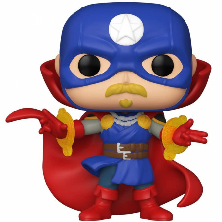 Marvel Infinity Warps Soldier Supreme Funko Pop! Vinyl Figure