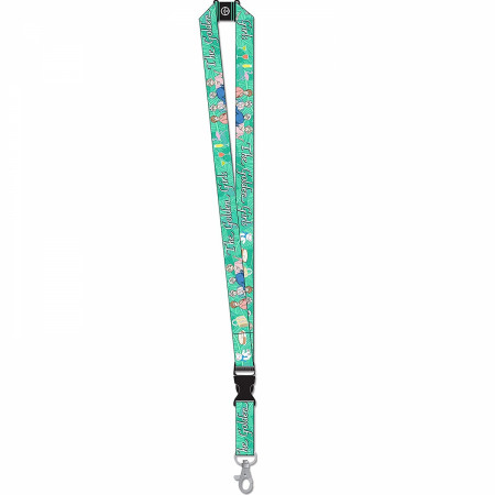 The Golden Girls Reversible Lanyard with Breakaway Clip and ID Holder