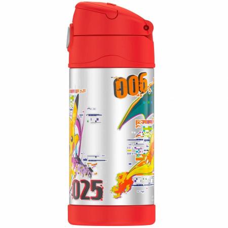 Pokemon Pikachu 12 Oz Thermos Bottle