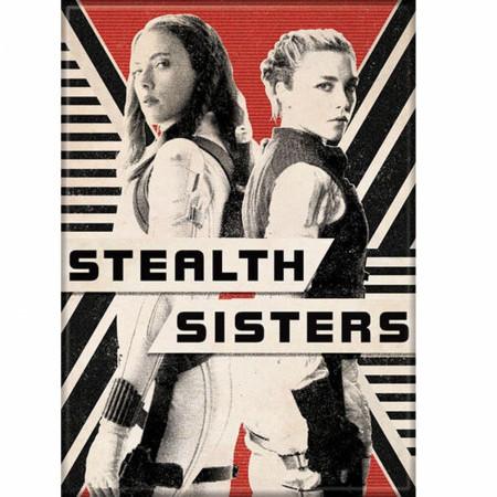 Black Widow Movie Stealth Sisters Characters Magnet